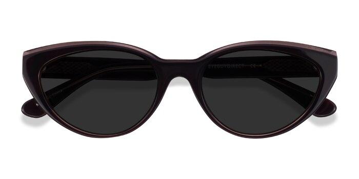 Champagne Brown Palm Beach -  Acetate Sunglasses