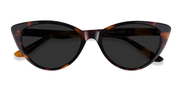 Tortoise Jolie -  Acetate Sunglasses