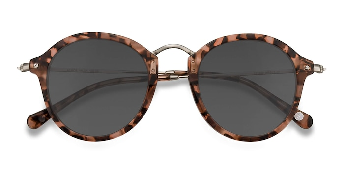 Brown Floral Atmos -  Acetate Sunglasses