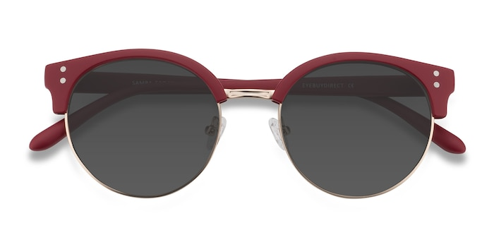 Red Samba -  Plastic, Metal Sunglasses
