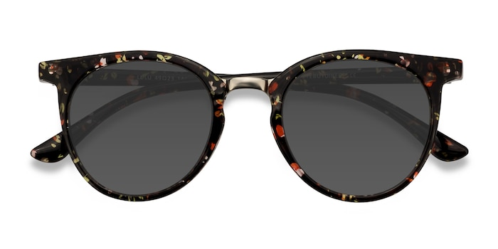 Floral Lulu -  Metal Sunglasses