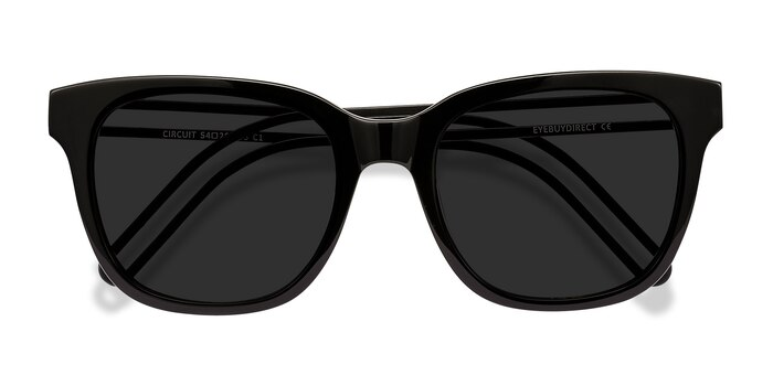 Black Circuit -  Acetate Sunglasses
