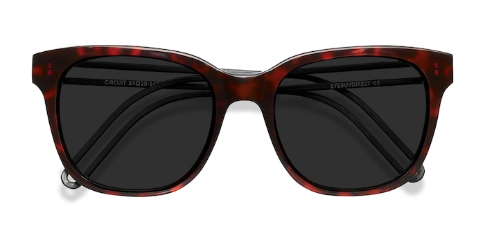 Purple Tortoise Circuit -  Acetate Sunglasses