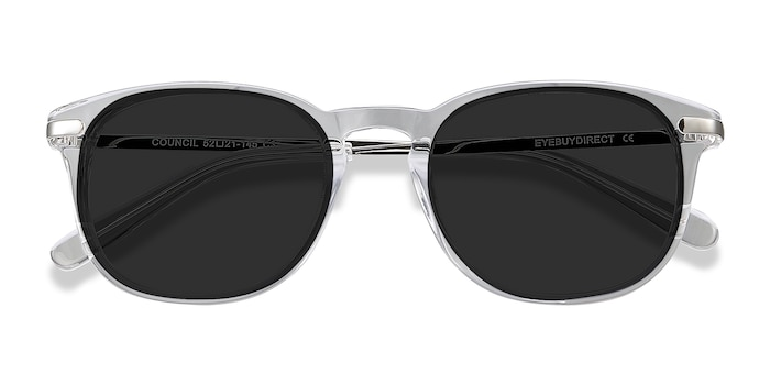 Clear Council -  Acetate Sunglasses