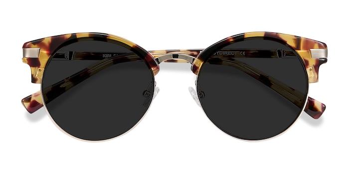 Tortoise Kiri -  Vintage Metal Sunglasses