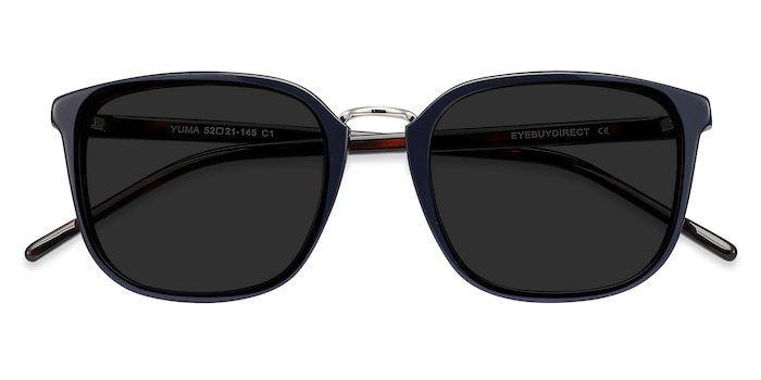 Navy Yuma -  Metal Sunglasses
