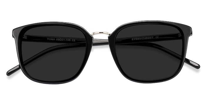 Black Yuma -  Acetate Sunglasses