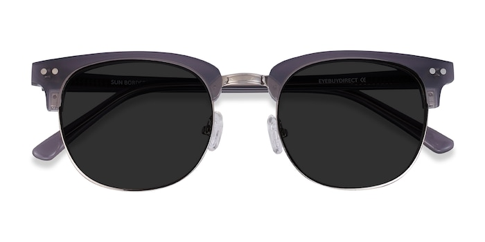 Gray Sun Borderline -  Metal Sunglasses