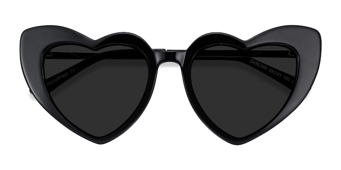 Black Darling -  Metal Sunglasses