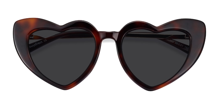Tortoise Darling -  Metal Sunglasses