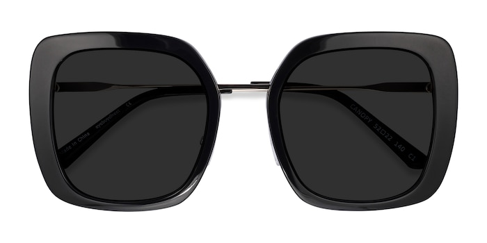 Black Canopy -  Acetate Sunglasses