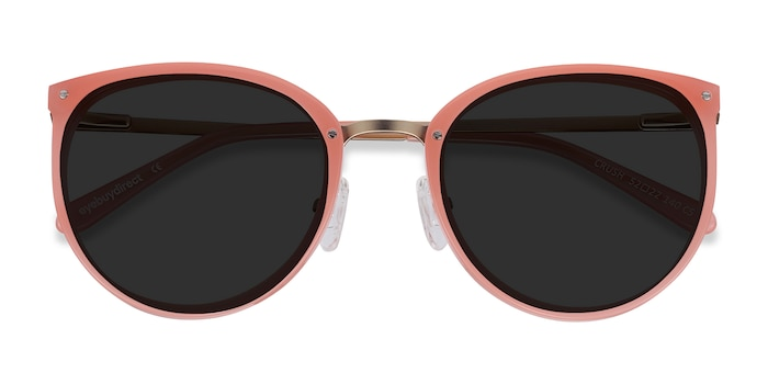 Coral Crush -  Acetate, Metal Sunglasses