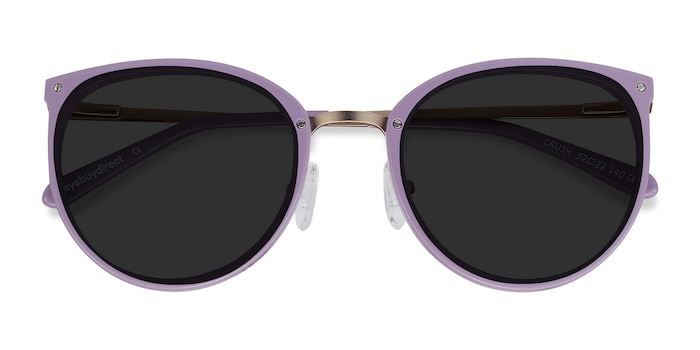 Lavender Crush -  Metal Sunglasses