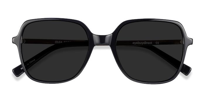 Black & Gold Olga -  Metal Sunglasses
