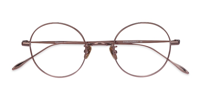 Rose Gold Berlioz -  Titanium Eyeglasses