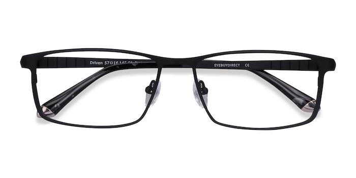 Black Driven -  Titanium Eyeglasses