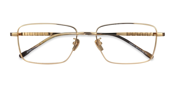 Golden Canto -  Lightweight Titanium Eyeglasses