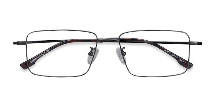 Gunmetal Lands -  Lightweight Titanium Eyeglasses