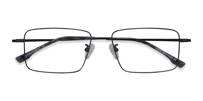 Black Lands -  Lightweight Titanium Eyeglasses