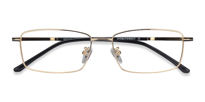Golden Holmst -  Lightweight Titanium Eyeglasses