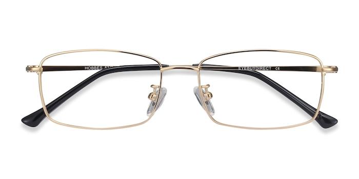 Golden Hobbes -  Lightweight Titanium Eyeglasses