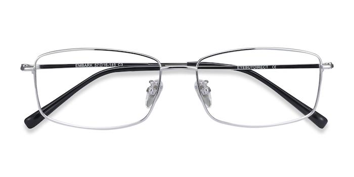 Silver Embark -  Lightweight Titanium Eyeglasses