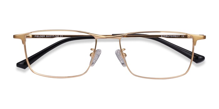Gold Fielder -  Lightweight Titanium Eyeglasses