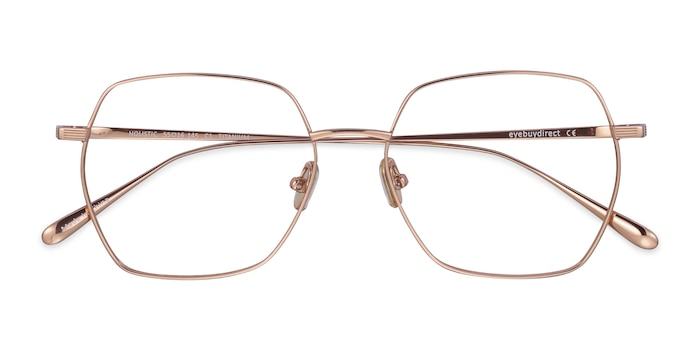 Rose Gold Holistic -  Lightweight Titanium Eyeglasses