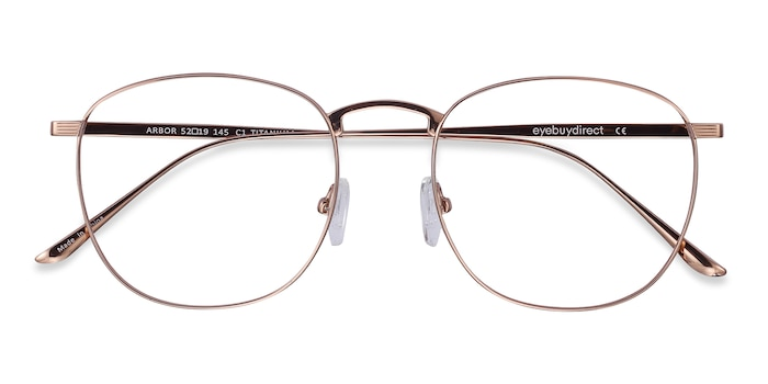 Rose Gold Arbor -  Lightweight Titanium Eyeglasses