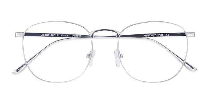Silver Arbor -  Lightweight Titanium Eyeglasses