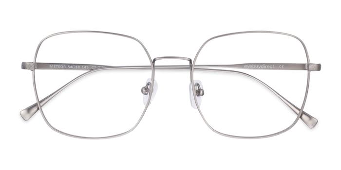 Gunmetal Meteor -  Lightweight Titanium Eyeglasses