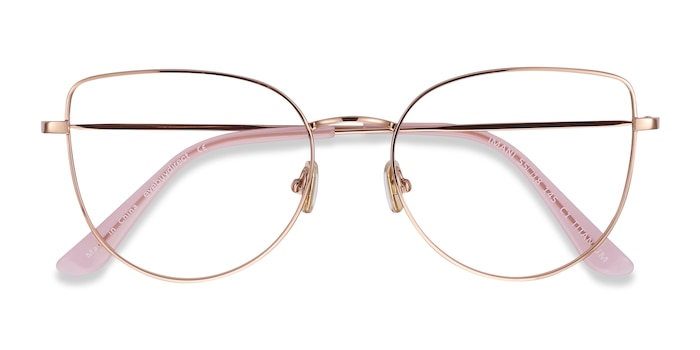 Rose Gold Imani -  Fashion Titanium Eyeglasses