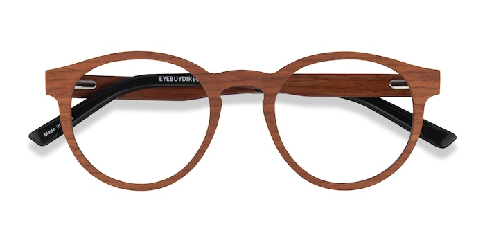 Light Wood Jungle -  Wood Texture Eyeglasses