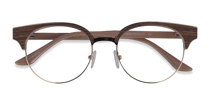 Gold Beige Wilderness -  Classic Acetate Eyeglasses