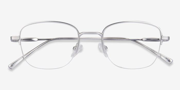 Navigator | Silver Metal Eyeglasses | EyeBuyDirect