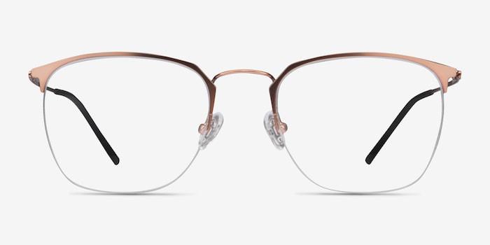 Golden Pink Urban -  Metal Eyeglasses