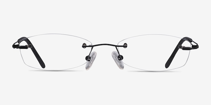 Black Matera -  Lightweight Metal Eyeglasses