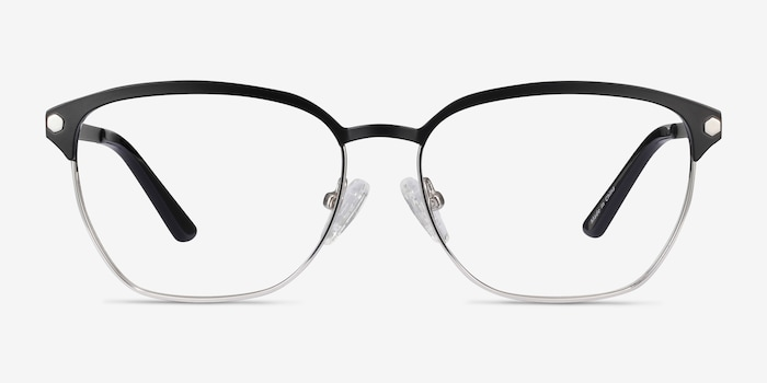 Black Berkeley -  Fashion Metal Eyeglasses