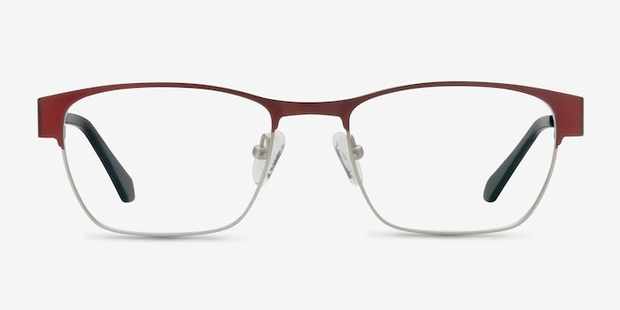 Matte Burgundy Admire -  Fashion Metal Eyeglasses