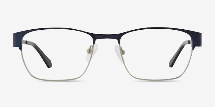 Navy Admire -  Metal Eyeglasses