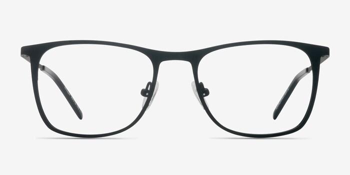Matte Black Whisper -  Metal Eyeglasses