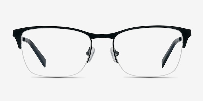 Black Time -  Metal Eyeglasses