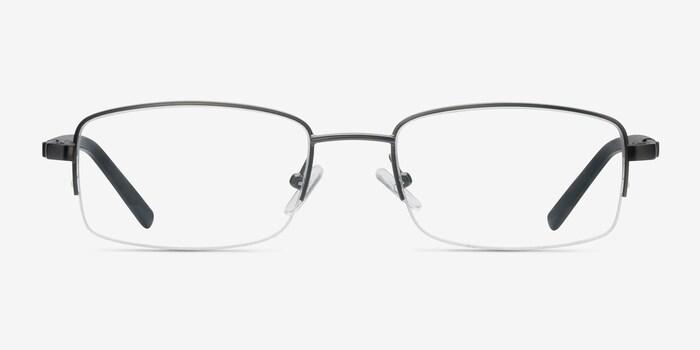 Gunmetal Hiro -  Metal Eyeglasses