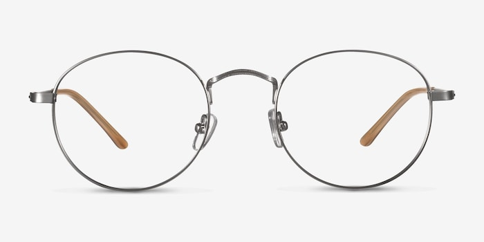 Silver  Cupertino -  Lightweight Metal Eyeglasses