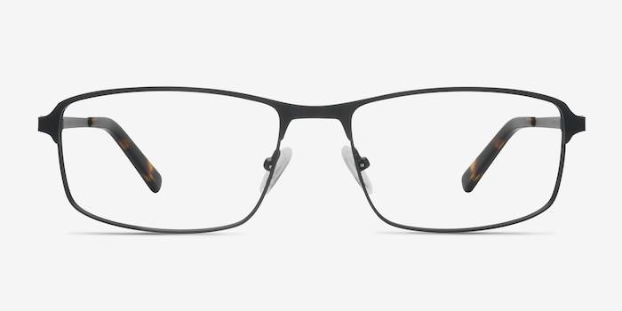 Black Capacious -  Metal Eyeglasses