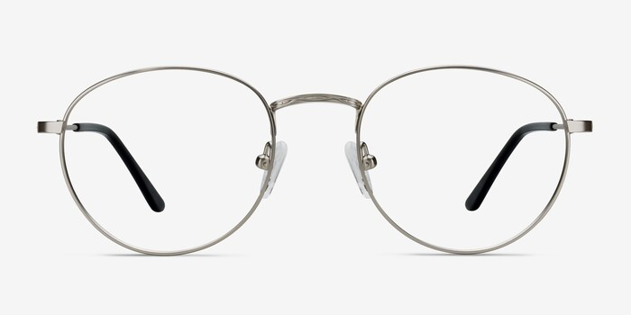 Silver Epilogue -  Classic Metal Eyeglasses