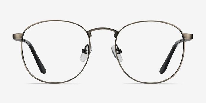 Gunmetal St Michel -  Vintage Metal Eyeglasses