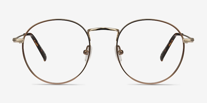 Coffee Wistful -  Metal Eyeglasses