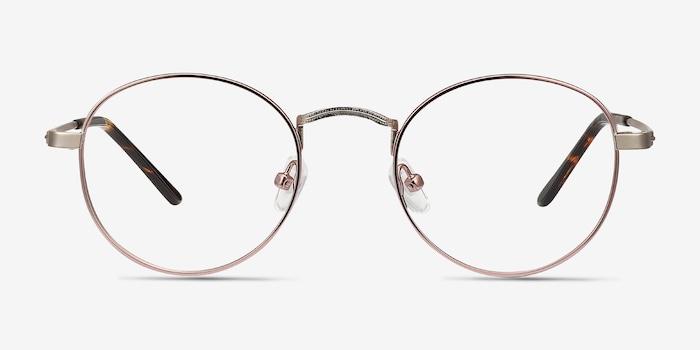 Victorian Pink Cupertino -  Vintage Metal Eyeglasses
