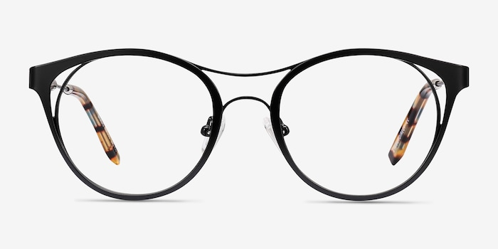 Black Bravo -  Metal Eyeglasses